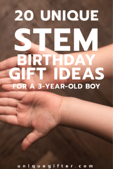 Fantastic STEM Birthday Gift Ideas for a 3-year old boy | Science gifts | Engineering toys | Empowering Gifts | Child gift ideas | Mad scientists | Gifts for Kids | 3rd Birthday | Toddler Gift Ideas