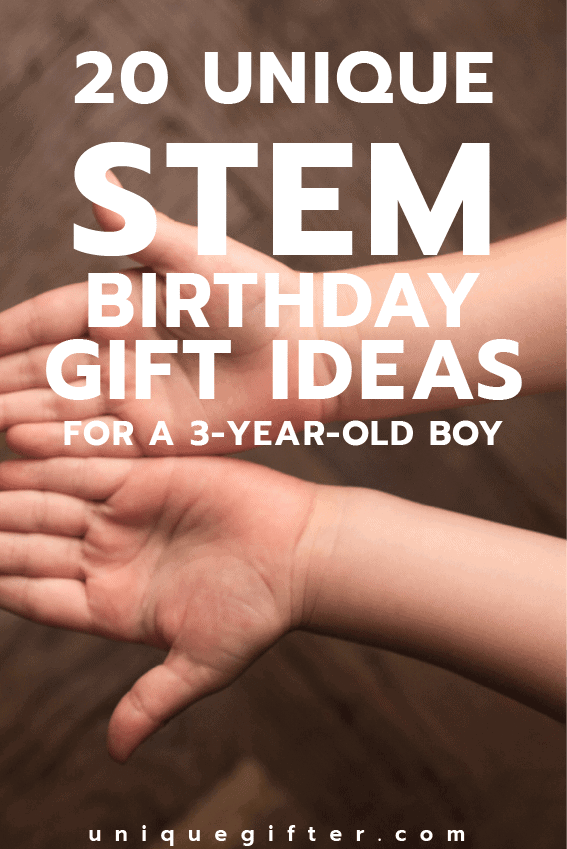 20 STEM Birthday Gift Ideas For A 3 Year Old Boy