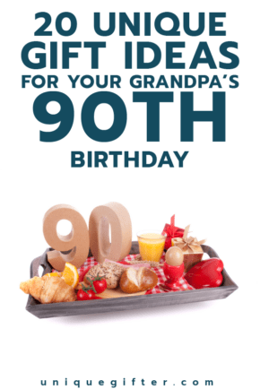 90th Birthday Gift ideas for Grandpa | Milestone Birthdays for Him | Gifts for Men | Big Birthday Ideas | Creative Presents for a 90th Birthday | Family Gift Ideas