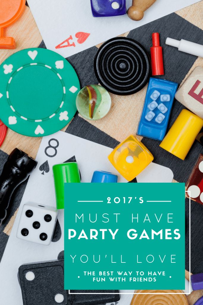 These are the must-have party games for 2017! Have you played them all? Perfect for games night and creating a family board game collection.