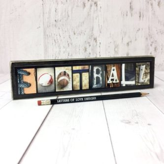 This Thank You Gifts for Football Coaches makes a great piece of decor.