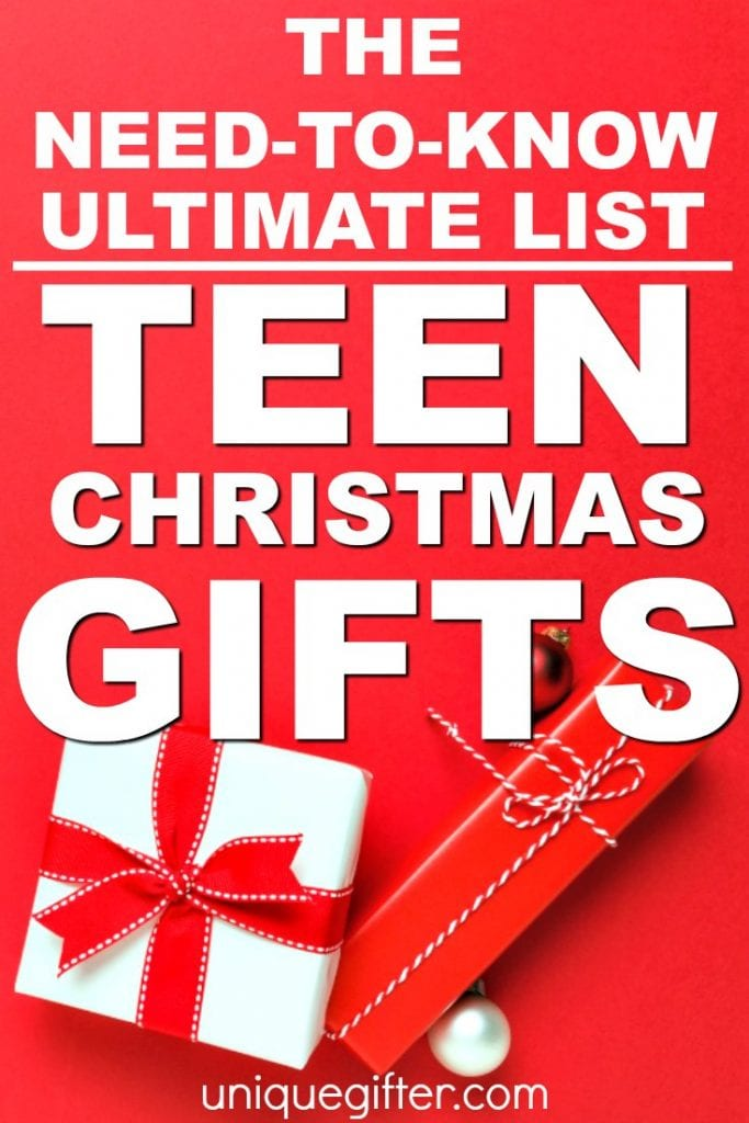 Christmas Ideas For Teens.20 Christmas Gift Ideas Your Teen Will Love Unique Gifter