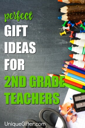 You can shower your child's 2nd grade teacher with gifts throughout the year - there's start of the school year gifts, teacher appreciation week gifts, Christmas gifts and finally a huge teacher thank you gift for the end of the school year.
