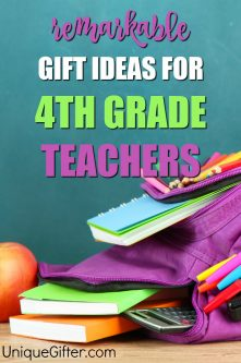 20 Gift Ideas for 4th Grade Teachers