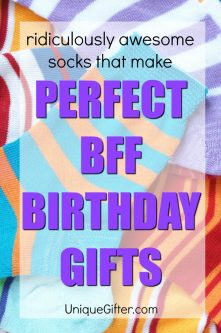 20 Ridiculously Awesome Socks that Make Perfect BFF Birthday Gifts