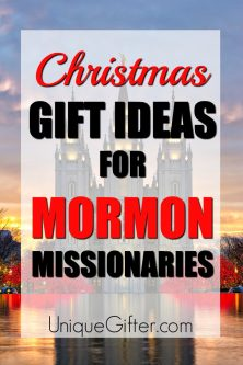 20 Christmas Gift Ideas for Mormon Missionaries