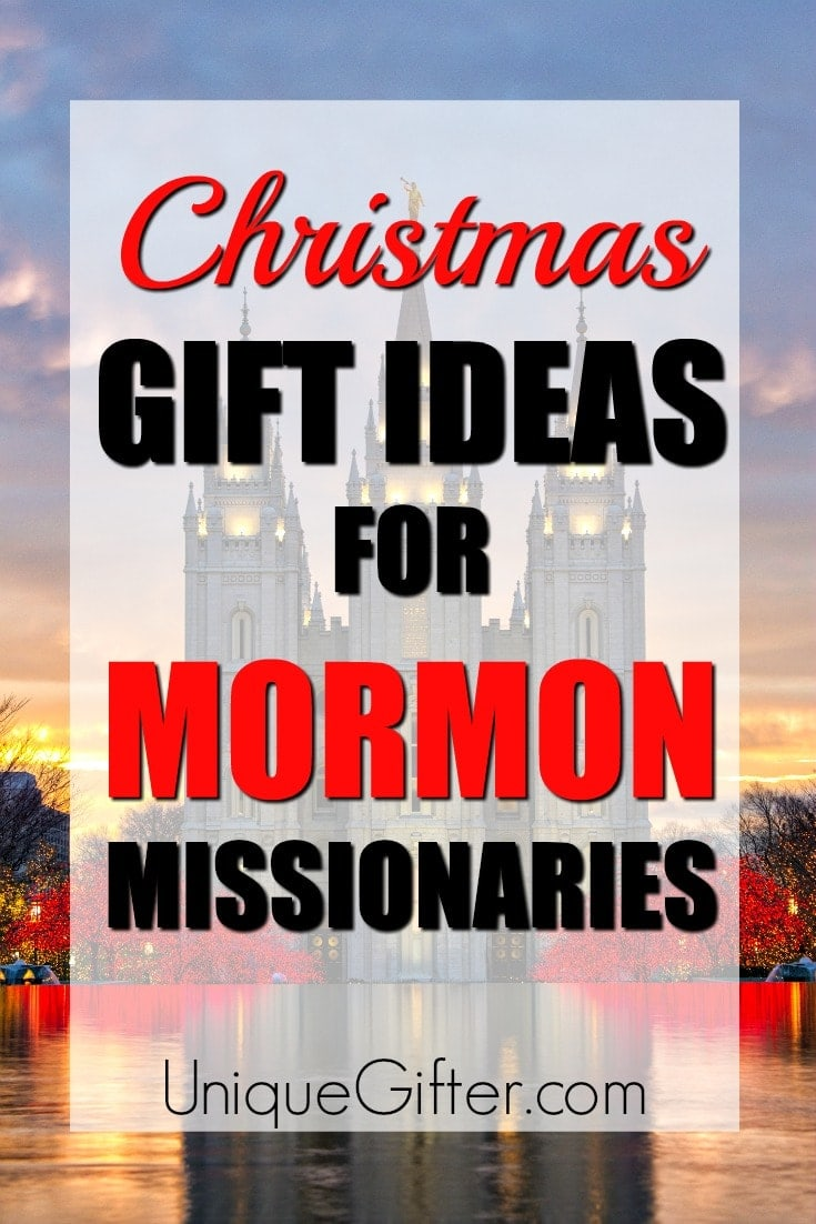 Need a gift idea for someone on mission? Try out this handy list of Christmas gift ideas for Mormon Missionaries. Remind them of home this year! | Christmas Presents for Mormon Missionaries | Presents for Missionaries | Christmas gift for a daughter on mission | Christmas gifts for a son on mission