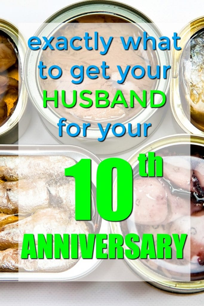 Exactly what to get your husband for your tenth anniversary