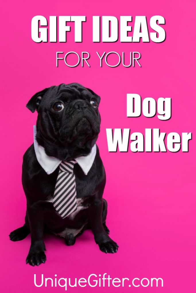 Want to show your dog walker how much you appreciate them? Try one of these gifts! | Christmas Presents for Dog Walkers | Thank You Gift Ideas for Dog Walker | Dog Walking Thank You Ideas | Gifts for Dog Walkers