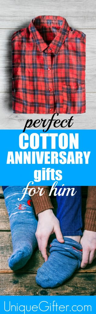 Perfect Cotton Anniversary Gifts For Him Second Men 2nd Presents