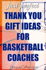 20 Thank You Gift Ideas for Basketball Coaches