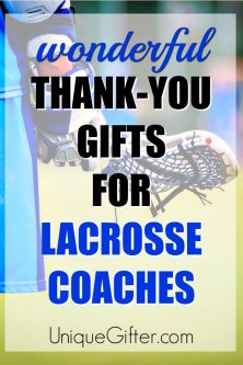 20 Thank You Gift Ideas for Lacrosse Coaches