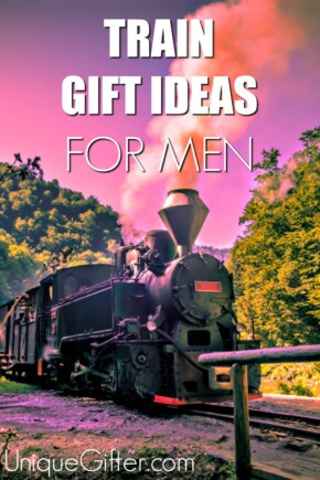 Train Gift Ideas for Men that make absolutely perfect Christmas and Birthday gifts   Christmas Gifts for Men   Train Themed Gift Guide   Christmas Presents for my Husband