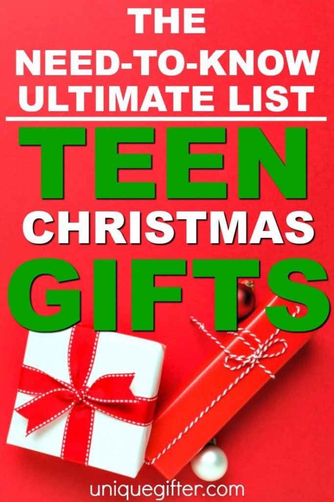 Teen Christmas Gifts   Christmas Ideas for Teenagers   Gifts for Guys   Gifts for Boys   Gifts for Gals   Gifts for Girls   Christmas Present Ideas for Teens