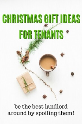 Christmas Gift Ideas for Tenants   How to be an Amazing Landlord   Gifts for my Tenant   What to get my tenants for the holidays   What to buy my tenants   Christmas Presents for my building