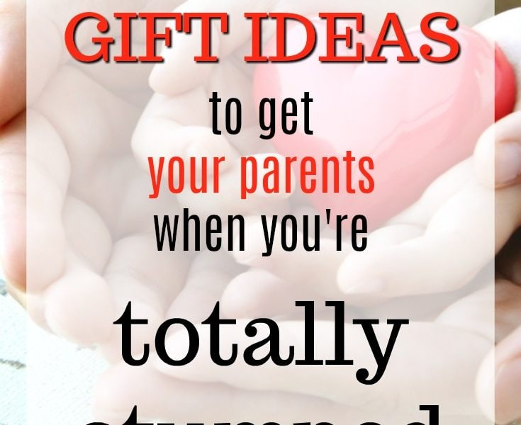 20 Christmas Gift Ideas you can Get Your Parents when You're Stumped