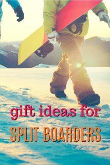 20 Gift Ideas for Split Boarders