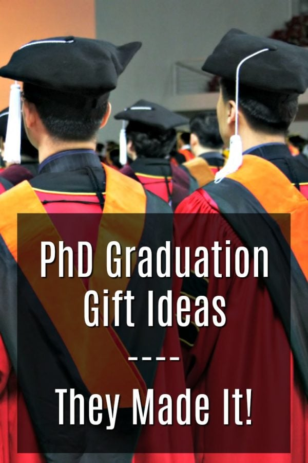 20 Gift Ideas for a PhD Graduation
