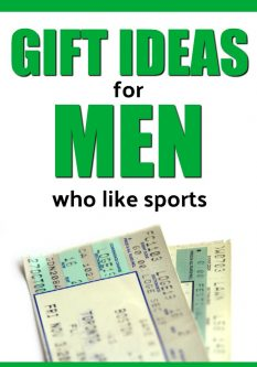 20 Gift Ideas for Men who like Sports