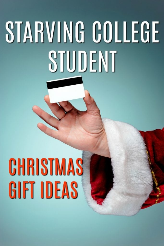 Christmas Gifts for Starving College Students | What to buy a junior for Christmas | Gift Ideas for Freshmen | Gifts for Sophomores | Presents for Seniors | College Student Gift Ideas | What to get someone in university