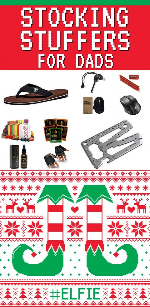 Stocking Stuffers for Dads | Stocking Stuffer Ideas for Fathers | Christmas Gifts for Dad | What to get my Dad for Christmas | How to fill a stocking for a man | Father friendly stocking stuffers | Men's stocking stuffer ideas | Stocking Stuffers for Husband
