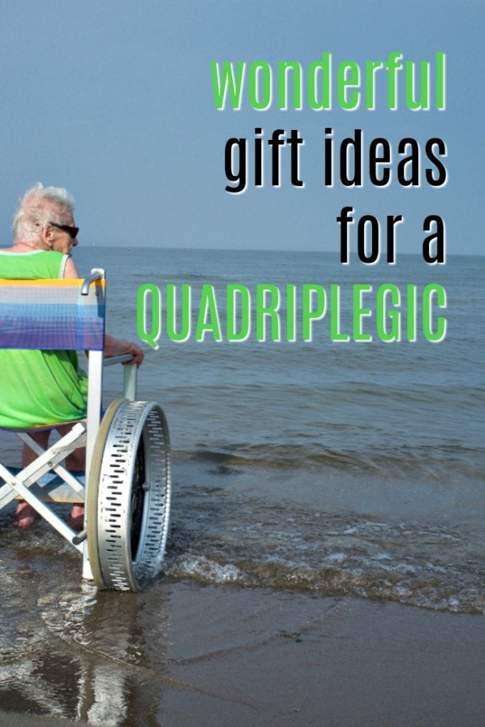Wonderful Gift Ideas for a Quadriplegic | Wheelchair Friendly Gifts | What to get a disabled person for a birthday present | Christmas gifts for mobility challenged people