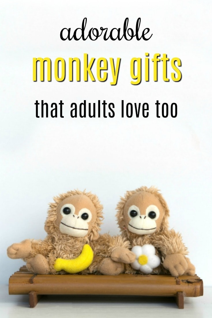 Adorable Monkey Gifts that Adults Want too | Creative Gifts for Monkey Lovers | Fun Monkey Themed Birthday Presents