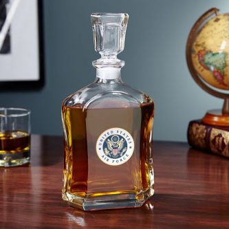 This classy air force retirement gifts is one they'll want to put on display.