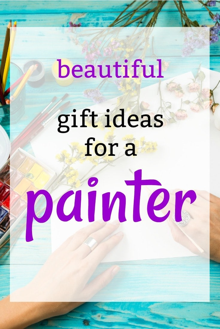 Birthday Gift Ideas for a Painter | Wonderful Artistic Gift Ideas | Gifts for an Artist | Gifts for a Watercolorist | What to get someone who loves art for Christmas