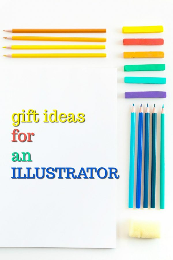 Lovely gift ideas for an illustrator | Fun gifts for a graphic designer | What to get someone who loves illustrating | Birthday presents for an illustrator | Christmas gifts for my graphic designer