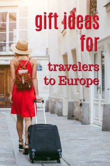 20 Gift Ideas for Travelers to Europe