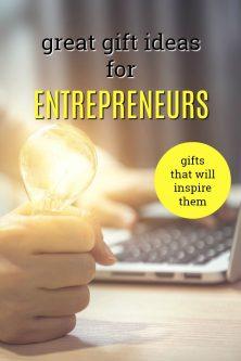20 Gift Ideas for an Entrepreneur