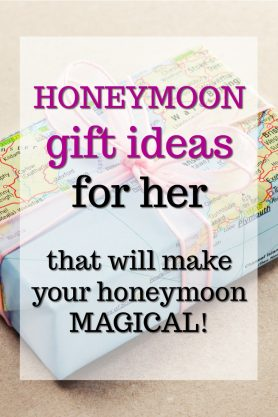 Honeymoon Gift Ideas for Her | What to get my wife for our honeymoon | Groom to Bride gifts | Bride to Bride gift ideas | Presents for our honeymoon | Creative Honeymoon surprises