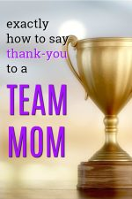 20 Thank You Gift Ideas for Team Moms