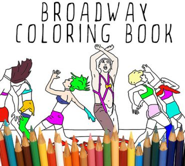 The best Broadway/Musical Theatre colour book you can give