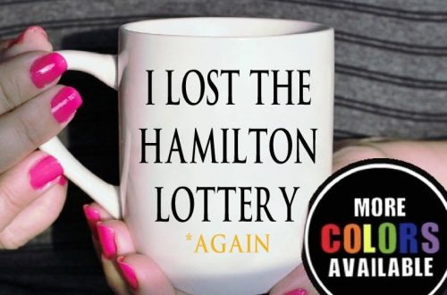 Funny mug gift idea for broadway/musical theatre lovers