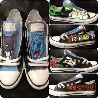 Cool Converse shoes as Gift Ideas for a Broadway/Musical Theatre Lover