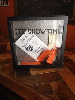 Lovers of theatre will appreciate this gift shadow box