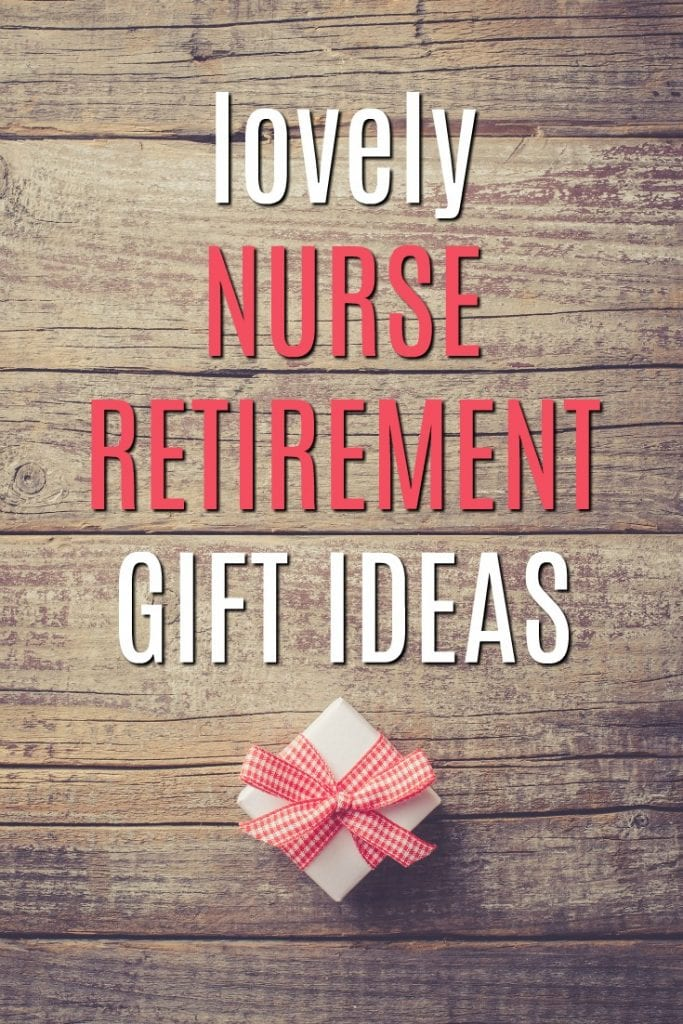 Know a lovely nurse about to retire? Say thank you with one of these gift ideas!   Nurse Retirement Gifts   Gifts for Retiring Nurses   Medical Retirement Presents   RN and LPN gifts   Nurse Bait