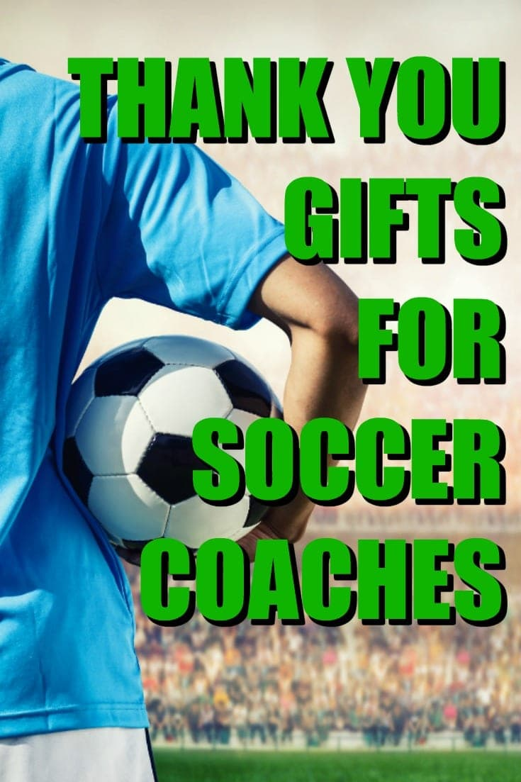 Looking to say Thank You to a soccer coach who was exceedingly patient with your young'uns this season? Check out this list. | Gift Ideas for Soccer Coaches | How to Thank a Soccer Coach | End of Season Presents | Christmas Presents for Soccer Coach