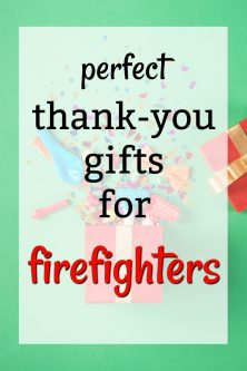 Thank You Gifts for Firefighters | Ways to Thank a Fireman | What to buy a Firefighter | Birthday gifts for a firefighter