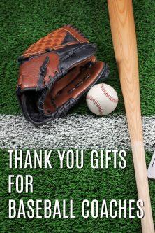20 Thank You Gift Ideas for Baseball Coaches