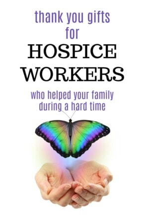 Thank you gift ideas for hospice workers   Hospice care gifts   Ways to show gratitude to end of life care nurses   Family thanks