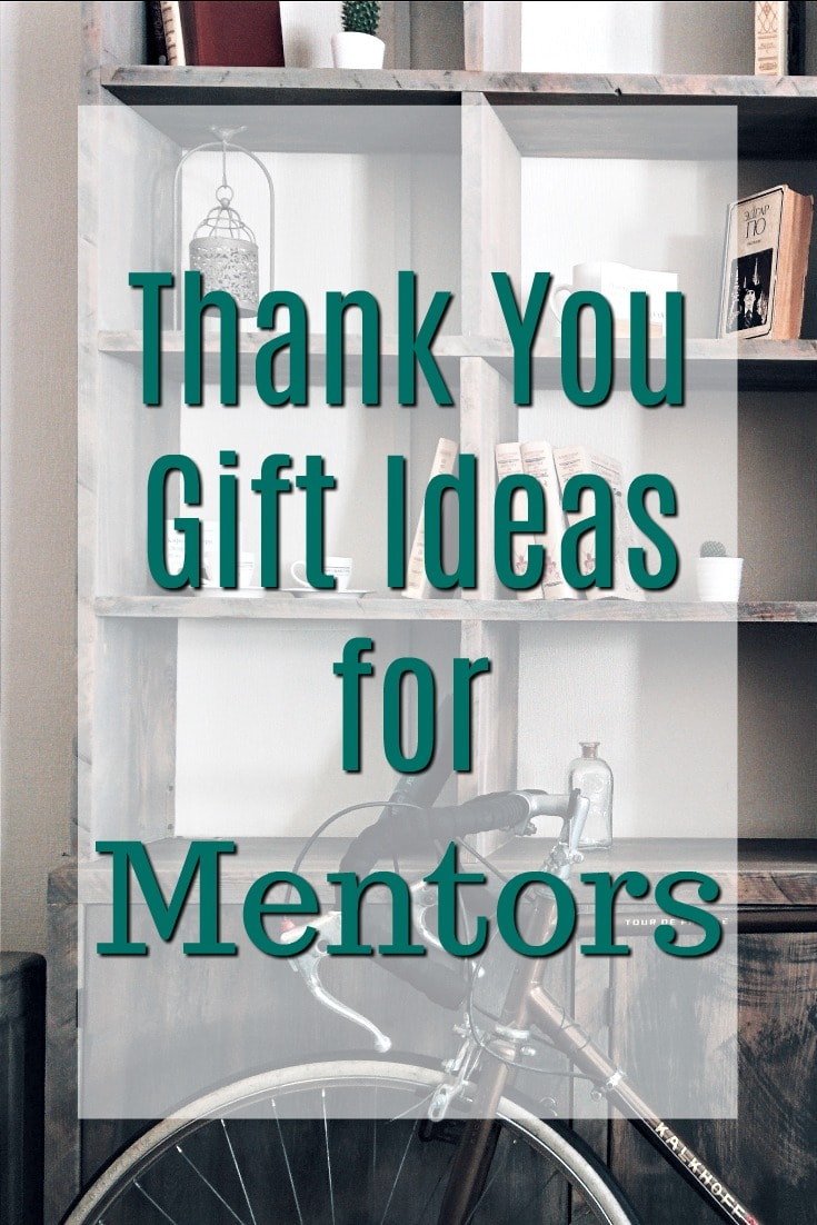 Thank you gift ideas for mentors | Ways to say thank you to a coach  | How to show appreciation for a mentor | Career coach gifts | Workplace sponsor gifts