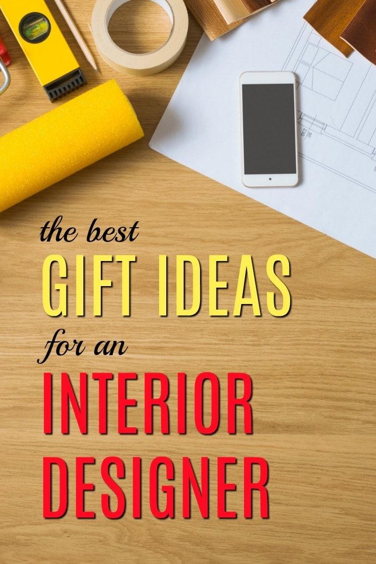 20 Gift Ideas For An Interior Designer
