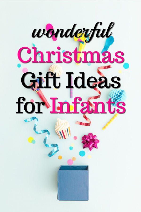 20 Christmas Gift Ideas for Infants