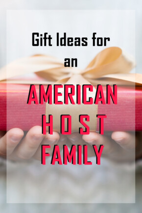 Gift ideas for an American Host Family | Unique Gifts For An American Host Family | Thank you gifts for an American Host Family | What to buy for an American Host Family | Presents for An American Host Family | American Host Presents | #gifts #thankyou #AmericanHost