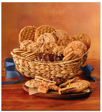 This cookie basket is great for Gift ideas for JW international convention delegates.