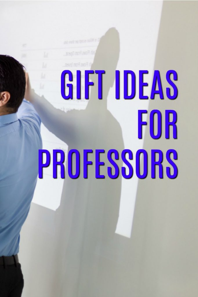 Gift Ideas for Professors | Christmas present for a professor | What to buy a college instructor | Thank you gifts for Profs