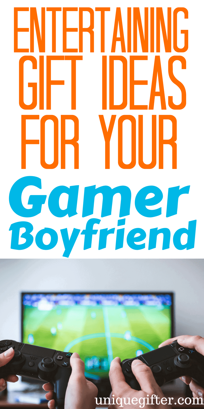 Entertaining Gift Ideas for My Gamer Boyfriend | What to get a nerd for Christmas | What to get my geeky boyfriend for Valentine's Day | Birthday presents for someone who likes videogames | Videogame gift ideas | Fun Gamer Gifts